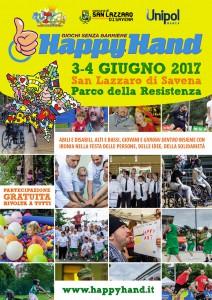 manifesto happyhand 2017 san lazzaro di savena