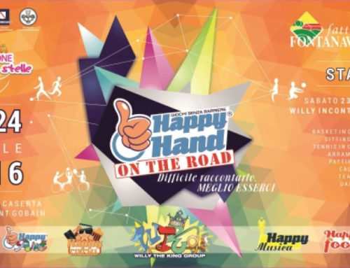 Happy Hand on the road 23/24 aprile 2016 – Caserta
