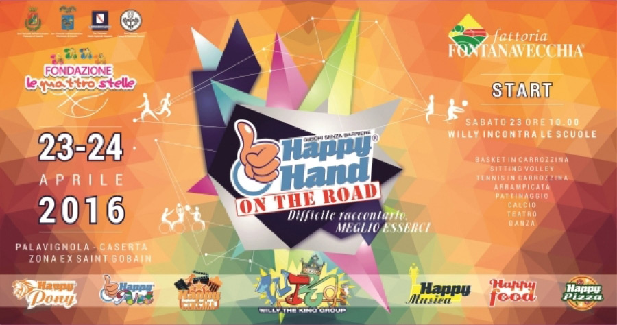 Happy Hand on the road 23/24 aprile 2016 - Caserta