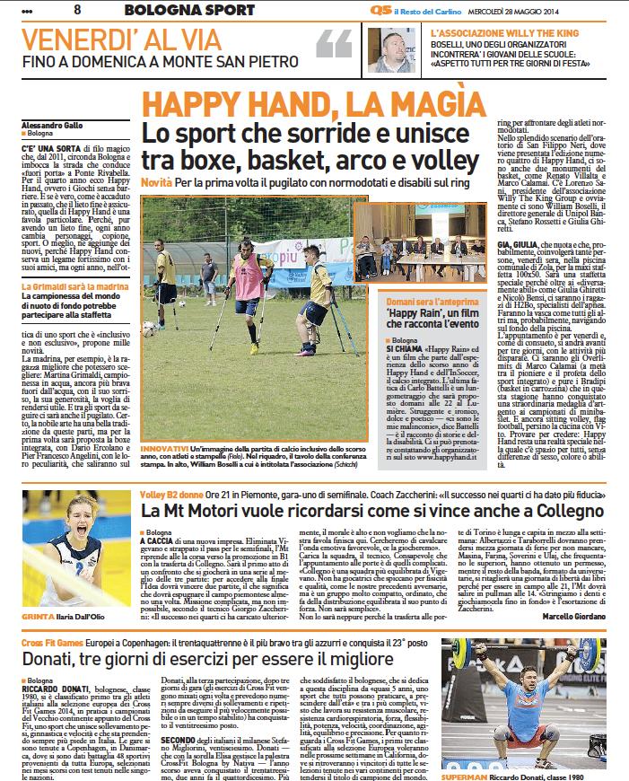 resto-del-carlino-happyhand-2014